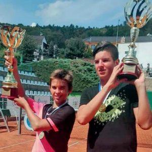 Splitski tenisači Mili i Dino na krovu su Europe