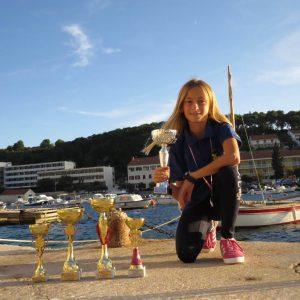Velike nade hvarskog jedrenja imaju tek 9 godina i puno trofeja