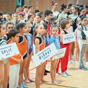 Natjecanje u organizaciji GK Split okupilo je više od 200 malih vježbača iz 14 klubova